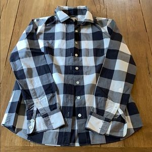 Jcrew Buffalo Check Button Down Shirt Size 0